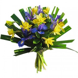 Bouquet Jonquilles Iris