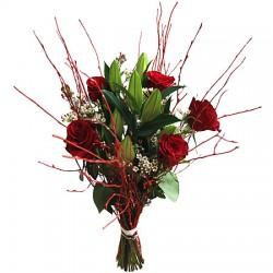 Roses et Lys de Noël