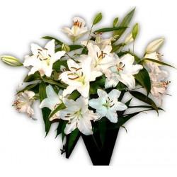 Bouquet Lys blancs