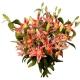 Bouquet Lys roses