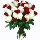 Bunch Snowflakes Roses