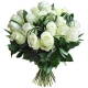 Bouquet Roses Blanches